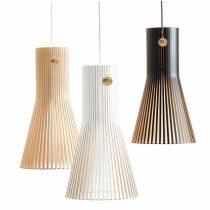 Seppo Wooden Pendant Light