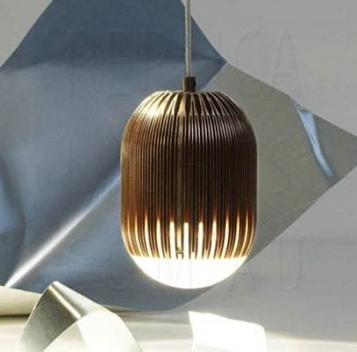 Fin Obround Light by Tom Dixon