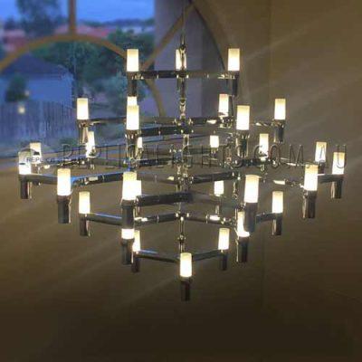 chrome chandelier 30 light