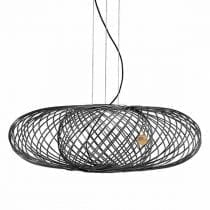 Black Mesh Pendant Light Anwar T30