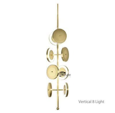 Le Royer Gold 8 Light Pendant