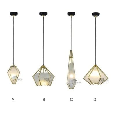 Prism Glass Pendant Lights