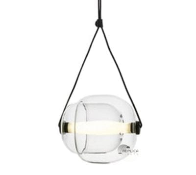capsule glass pendant light
