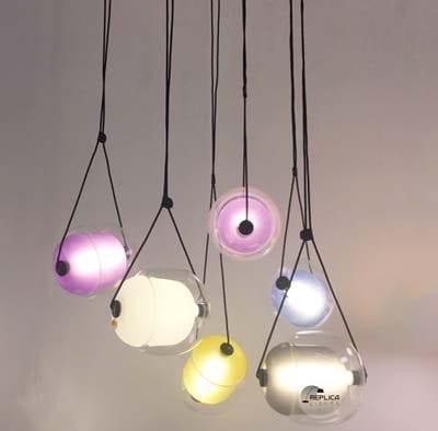 Capsule LED Pendant Light On