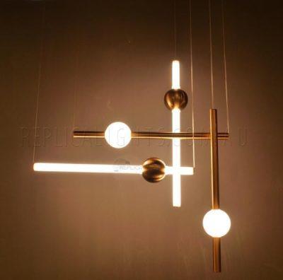 Orion Lee Broom 4 Light Pendant Chandelier