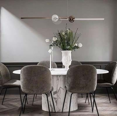 Modern LED Tube Pendant