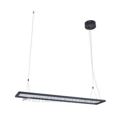 Flos Rectanglular Pendant LED Light off