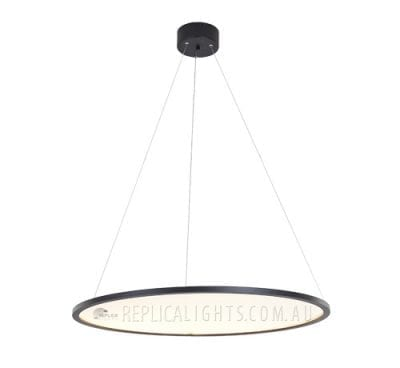 Circular Round LED Superloon Pendant Light by Flos