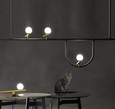 Artemide 3 Bird Linear LED Pendant Light