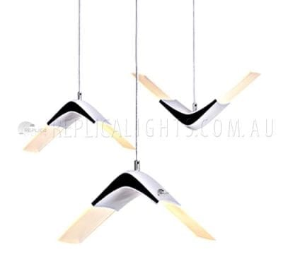 seagull funky pendant light