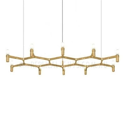 nemo gold candlelight chandelier