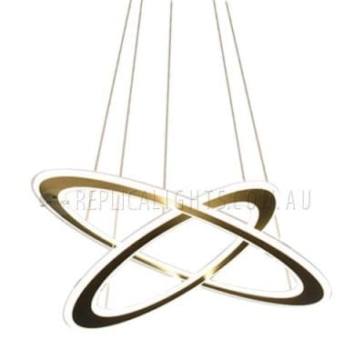 LED Ring Pendant Light