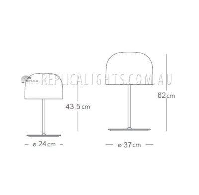 Fontanart Equatore Table Lamp