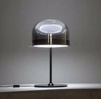 Fontanart Equatore Black Smoky Table Lamp