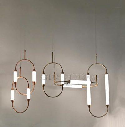 Brass-Tube-Ribbed-White-Glass-Pendant