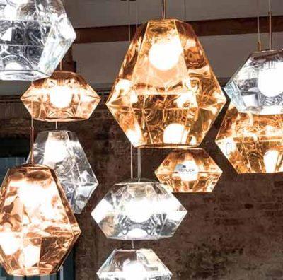 Cut Lantern Pendant Light