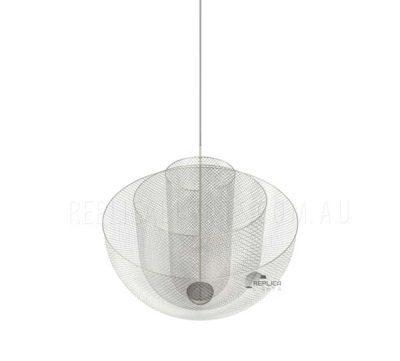 Steel Wire Mesh Pendant Light