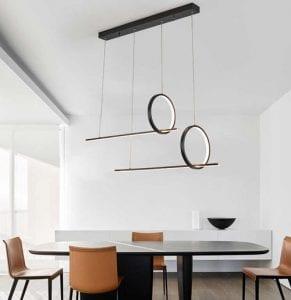 Bar Arrangement Linear Pendant Light