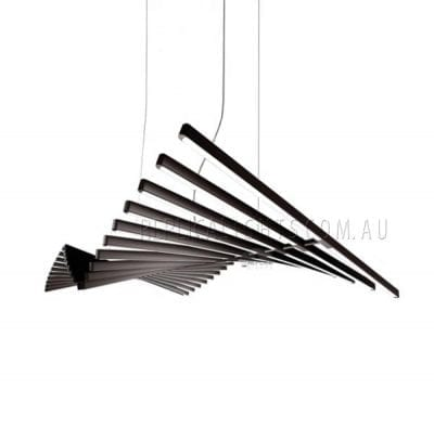 Rhythm Black Pendant Light Modern LED Lighting