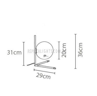 Flos Ic T2 Minimalist Table Light
