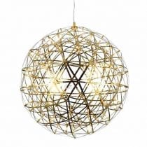 Gold Stainless Steel Pendant Light Moooi Raimond Puts