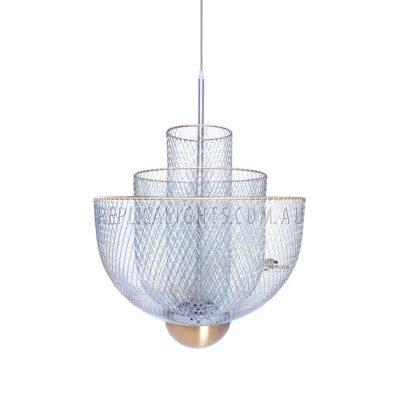 Moooi Meshmatics Steel Pendant Light Wire Mesh Lighting