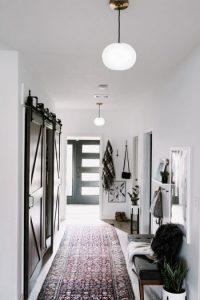 Hallway Corridor Glass Pendant Lights