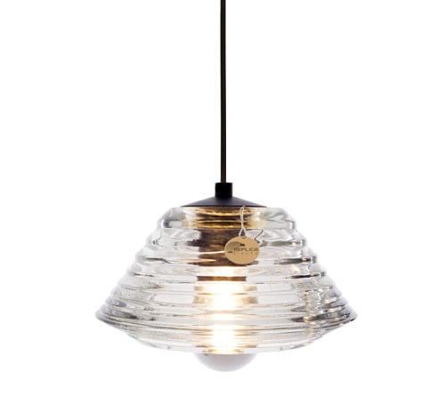 Pressed Glass Bowl Pendant Light By Tom Dixon Replica Lights