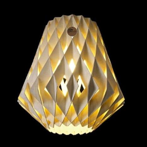 Tuukka Halonen Pilke Pendant 36 Wood Replica Lights