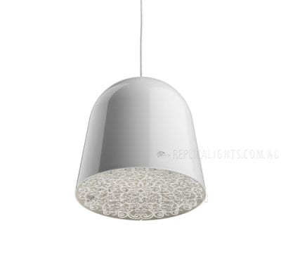Flos Can Can White Clear by Marcel Wanders