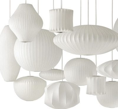 George Nelson Bubble Light Collection