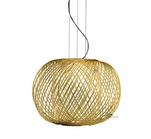 Gold Mesh Parachilna Anwar T45 Pendant, Gold Mesh Lamp Shade