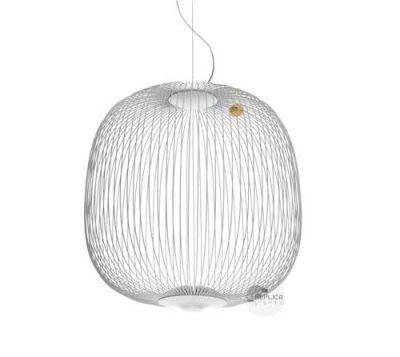 White Spokes 2 Pendant Light by Foscarini