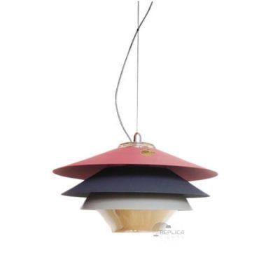 Overlay 3 tier pendant light
