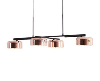 Drum Pendant Light Lalu 4 Light