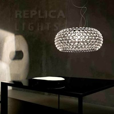 Caboche Clear Pendant Light